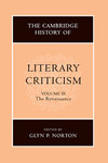 The Cambridge history of literary criticism. Vol. 3, Renaissance