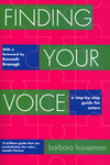 Finding your voice: a step-by-step guide for actors