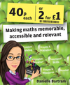 Forty pence each or two for a pound: making maths memorable, accessible and relevant