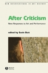 After criticism: new responses to art and performance