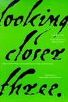 Looking closer. 3, Classical writing on graphic design