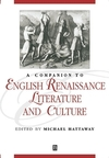 A companion to English Renaissance literature and culture