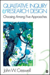 Qualitative inquiry & research design: choosing among five approaches